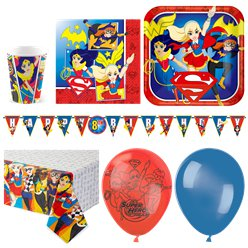 DC Super Hero Girls Party Pack - Deluxe Pack for 16