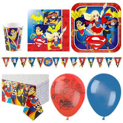 DC Super Hero Girls Deluxe Party Pack