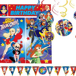 DC Super Hero Girls Room Decorating Kit