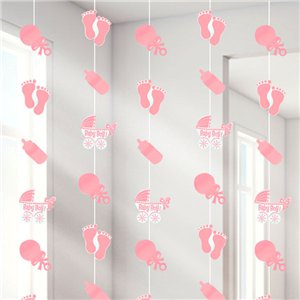 Baby Girl String Decoration