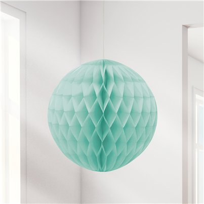 Mint Green Honeycomb Ball Decoration - 20cm