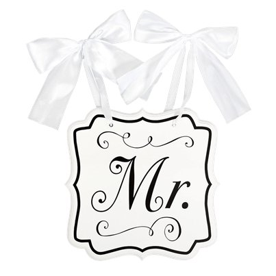 Mr. MDF Chair Sign