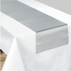 Silver Sparkle Table Runner