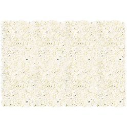 Cream Hydrangea Flower Wall Kit - 1.6m