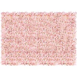Pink Hydrangea Flower Wall Kit - 1.6m