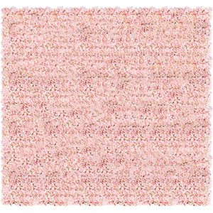 Pink Hydrangea Flower Wall Kit - 2.4m