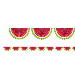Watermelon Paper Bunting - 2m