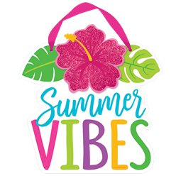 Mini Sign Summer Vibes 1 (Decoration)