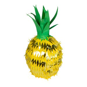 Gold Foil Pineapple Pinata Decoration