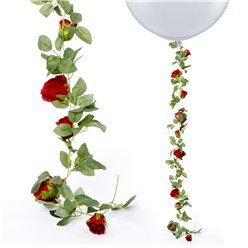 Red Rose Garland - 1.75m