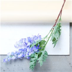 Violet 2 Head Wisteria Decoration - 90cm