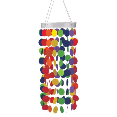 Rainbow Hanging Circle Chandelier