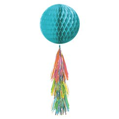 Multi Honeycomb Ball with Tassel Tail