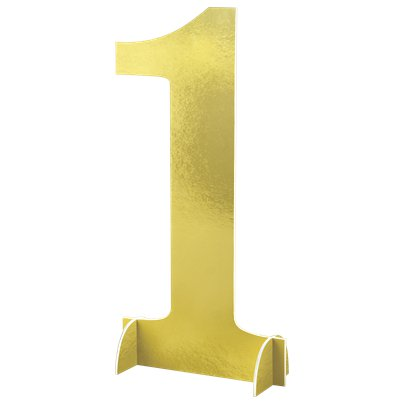 Number 1 Large Standing Sign - 61cm