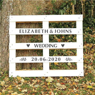 Wedding Alphabet & Numbers Stencil Kit