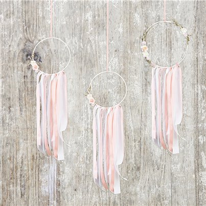 Pink Dream Catcher Decorations