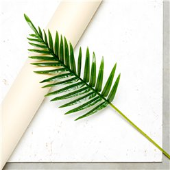 Green Fern Palm Leaf Decoration - 68cm