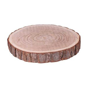 Wooden Slice Table Centrepiece - 22cm