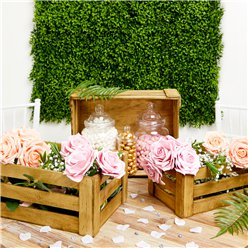 Wooden Crate Decorations