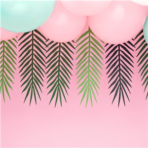 Green Palm Leaf Garland - 1.25m