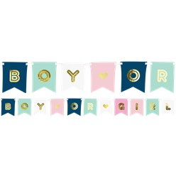 Boy Or Girl Banner - 1.75m