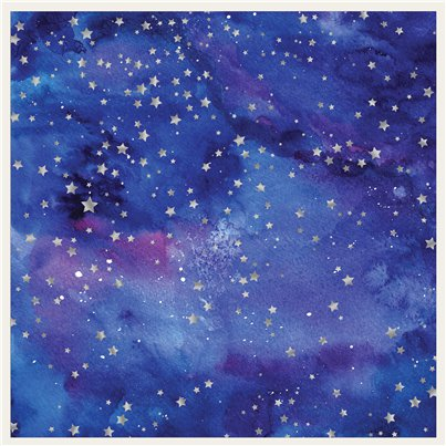 Galaxy Star Backdrop 2 x 162cm x 81cm