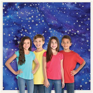Galaxy Star Backdrop - 1 (Decoration)