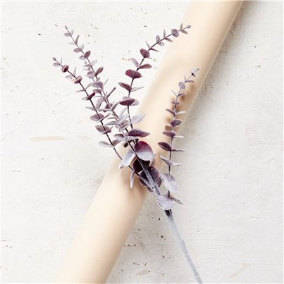 Purple Eucalyptus Spray Decoration - 74cm