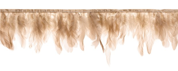 Dusky Pink Feather Garland - 1m