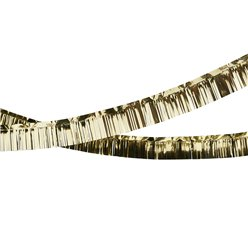 Gold Foil Fringed Garland - 5m
