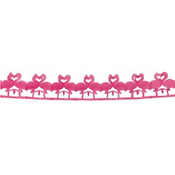 Flamingo Paper Garland - 2.5m