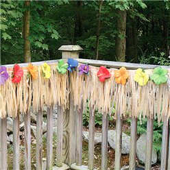 Luau Fence Fringe - 7.3 Hawaiian Decoration