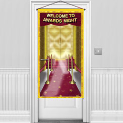 Awards Night Door Banner - 1.5m