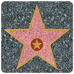 Hollywood Star Coasters