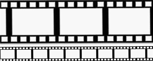 Hollywood Filmstrip Decorating Roll - 50ft