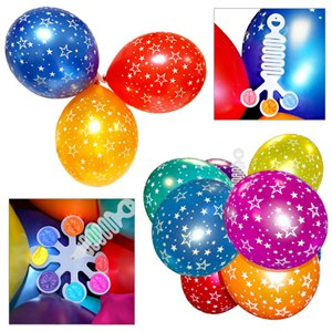 Balloon Plastic Hangers - Accessories