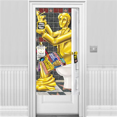 Awards Night Bathroom Door Banner - 1.5m