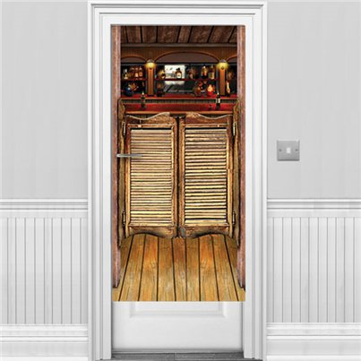 Saloon Door Banner - 1.5m