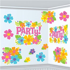 Hibiscus Cutouts - Hawaiian Decoration