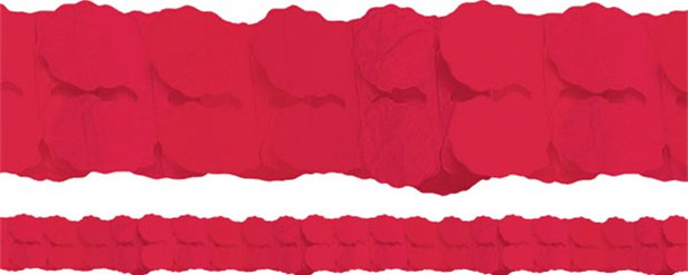 Red Paper Garland - 3.65m
