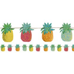 Pineapple Bunting - 3m Hawaiian Decoration
