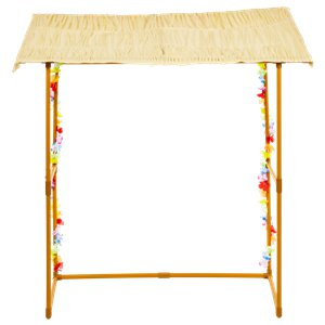 Tiki Bar Hut Frame - 1.4m Hawaiian Decoration