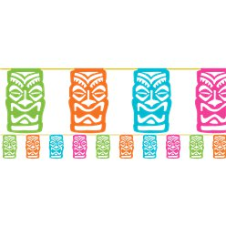 Tiki Bunting - 3.65m Hawaiian Decoration