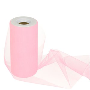Pink Tulle Roll - 15cm x 25m