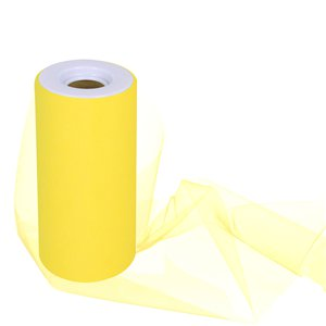 Yellow Tulle Roll - 15cm x 25m