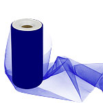 Royal Blue Tulle Roll - 15cm x 25m