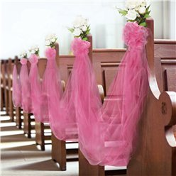 Hot Pink Tulle Spool - 15cm x 59m