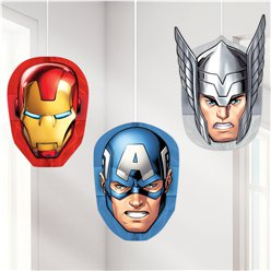 Avengers Honeycomb Hanging Decorations