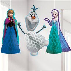 Frozen Honeycomb Hanging Decorations