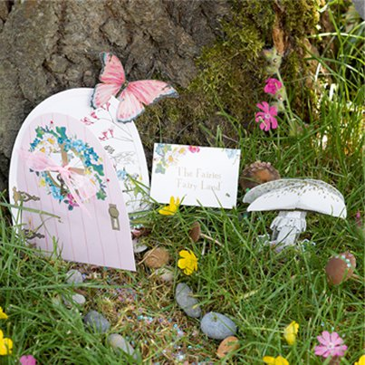 Fairy Door Set Decoration